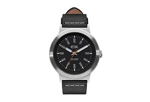Vestal Retrofocus Italian Leather Watch