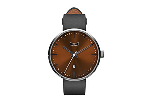 Vestal Roosevelt Italian Leather Watch