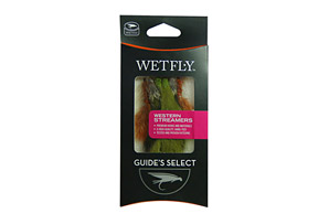 Wetfly Fly Selection - Westen Streamer - Half Dozen
