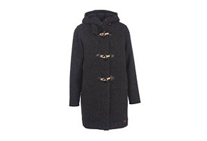 Woolrich Century Hooded Wool Duffle Coat - Women's
