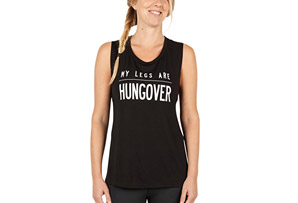 Zuala My Legs Are Hungover Tank - Women's