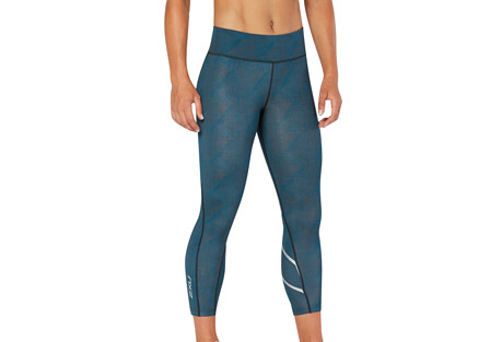 Mid-Rise Print 7/8 Compression Tights - Women's