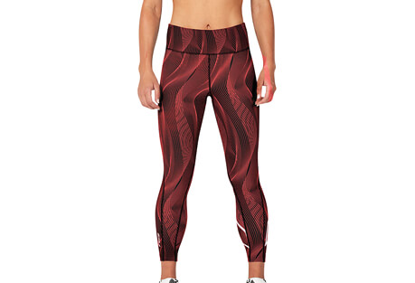 Mid-Rise Print Compression 7/8 Tight - Women's