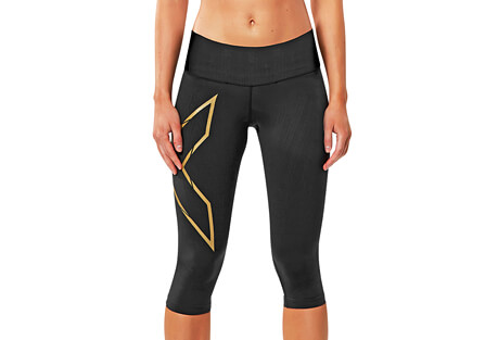MCS Bonded Mid-Rise Compression 3/4 Tights - Women's