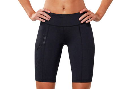 Mid-Rise Compression Shorts - Women's