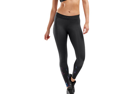 Accelerate Compression Tights w/Storage - Women's