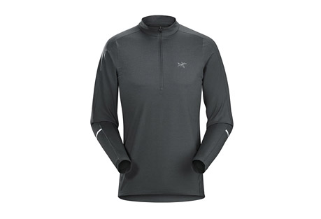 Cormac Zip Neck LS - Men's