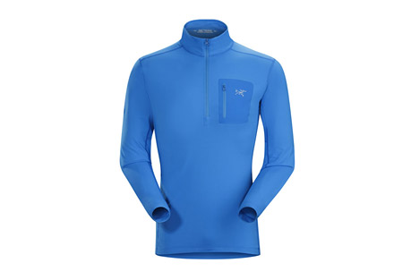 Rho LT Zip Neck - Men's