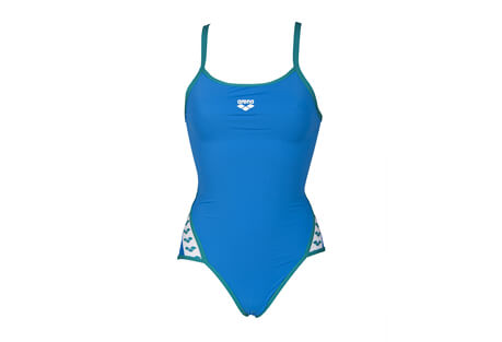 Team Stripe SuperFly Back One Piece - Women's