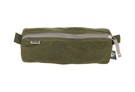 "Waxed Canvas Stowe 12"" Kit Bag"