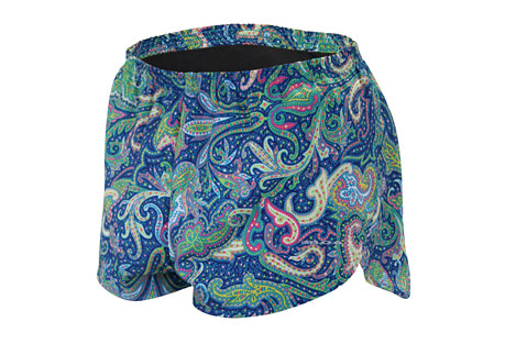 "1"" Printed Elite Split Short - Women's"