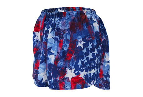 "1.5"" Printed Split Trainer Short - Women's"