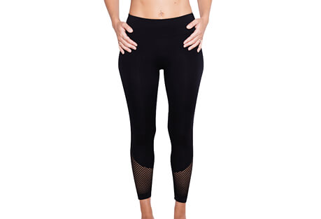 Reveal Mesh Crop Tight - Women's