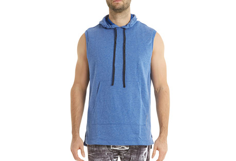 Crossover Sleeveless Hoodie - Men's