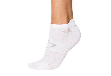 No Show Light Compression Socks - Women's