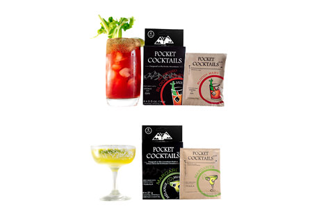Pocket Cocktails 8-pack - Margarita & Bloody Mary