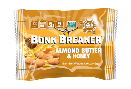 Almond Butter & Honey Energy Bar - Box of 12