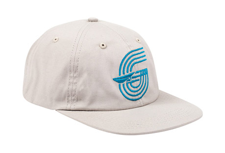 Track Canvas Polo Hat