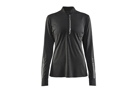 Mind LS Reflective Zip Tee - Women's