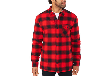 Hendrix Flannel Shirt Jacket - Men's