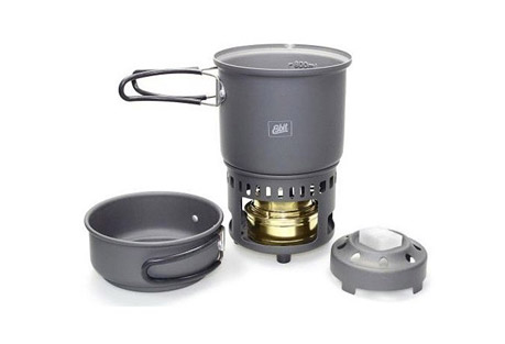 Alcohol and Solid Fuel Cookset