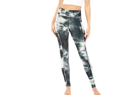 Tye Dye Textured Legging - Women's