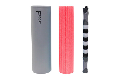 3-N-1 Massage Roller Kit