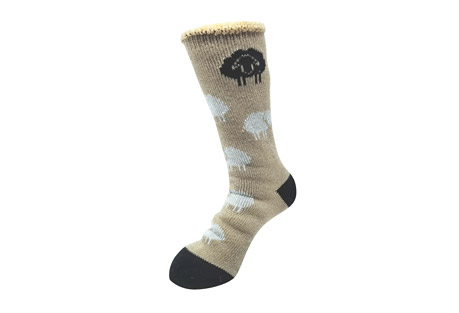 All Over Sheep Thermal Socks - Women's