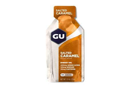 Salted Caramel Energy Gel w/Caffeine - Box of 24