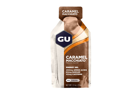 Caramel Macchiato Energy Gel w/Caffeine - Box of 24
