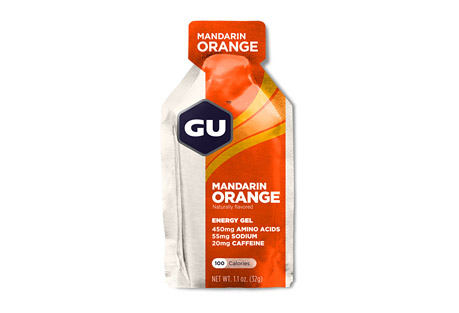 Mandarin Orange Energy Gel w/Caffeine - Box of 24