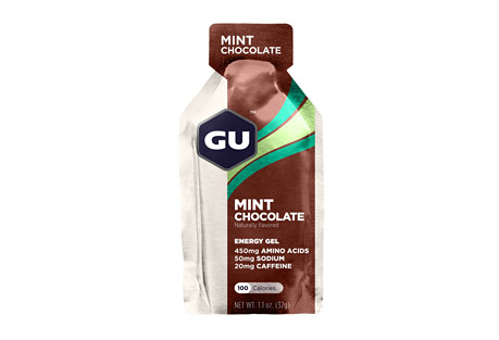 Mint Chocolate Gel w/Caffeine - Box of 24