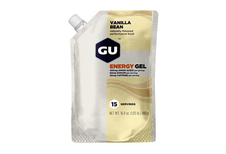 Vanilla Bean Bulk Energy Gel w/Caffeine - 15 Servings