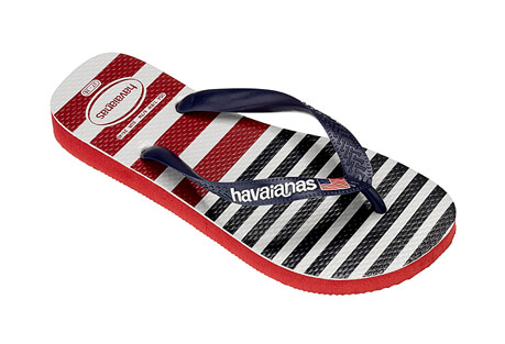 USA Stripe Logo Sandals - Men's