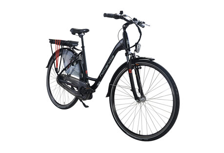 "Mimo Aluminum 19"" Shimano Nexus 7 Mid-Motor Electric City Bicycle"