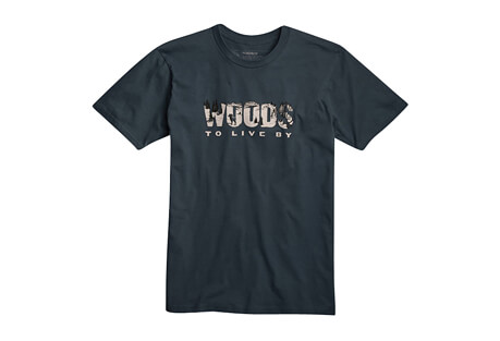 Winter Woods To Live By SS Tee - Men's