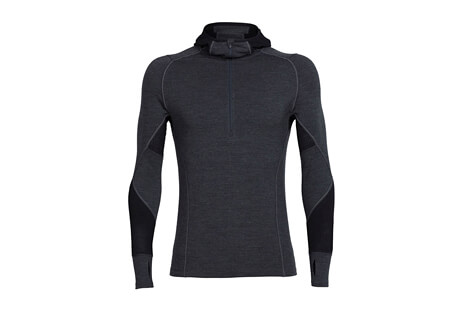 Winter ZoneLong Sleeve Half Zip Hoodie - Men's