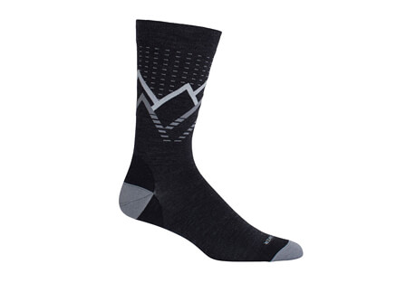 Lifestyle UL Crew Caps and Chasms Socks