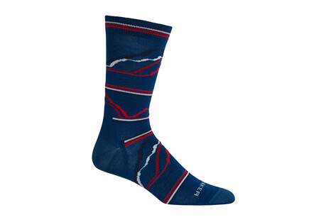 Lifestyle Ultra Light Crew Seismograph 7 Socks