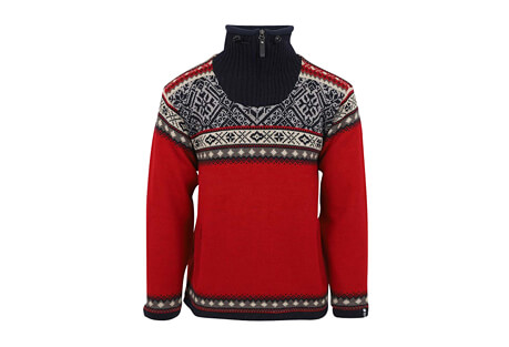 Bergen Lined Wool Sweater Nordic Style - Men's