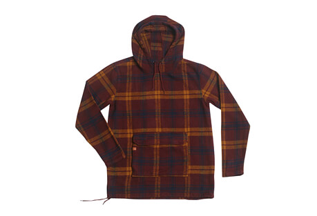 Silo Heavyweight Anorak Flannel - Men's