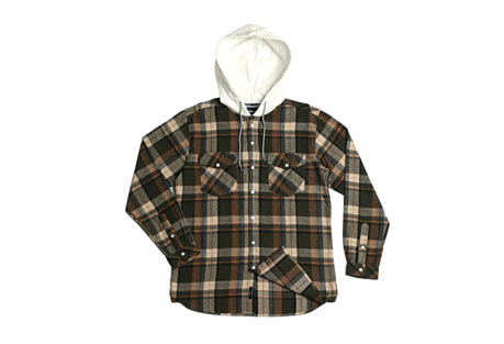 Parker Hooded Flannel - Men's