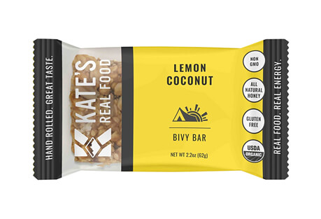 Bivy Lemon & Coconut Bar - Box of 12