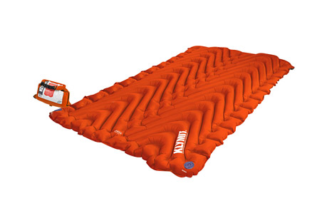 Insulated Double V Sleeping Pad