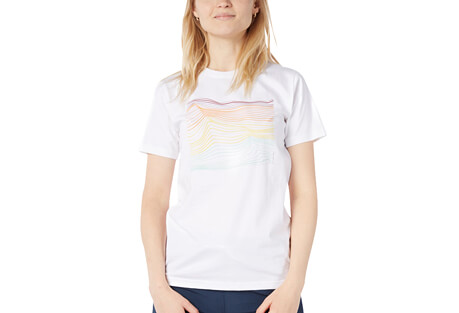 Gradient Wave T - Women's