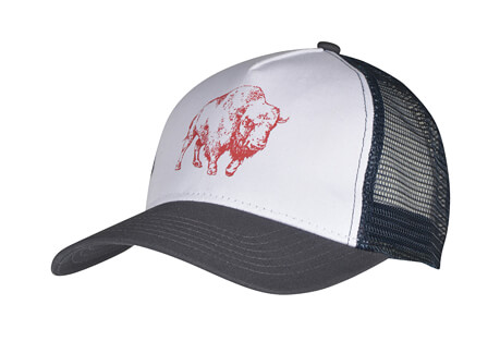 Bison Illustration Trucker Hat