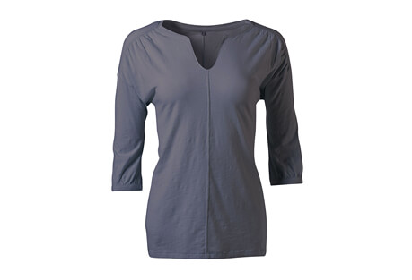 Essential Crop Sleeve Knit Top - Women's