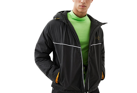 Lightweight Reflective Hoodie Goose Down Jacket - Men's