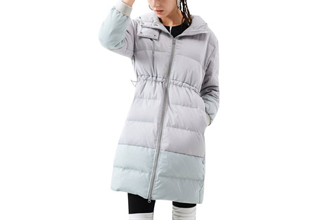 Powder Down Mid Length Jacket - Women's
