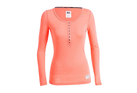 Merino  Pop-Pop Top Long Sleeve Shirt - Women's